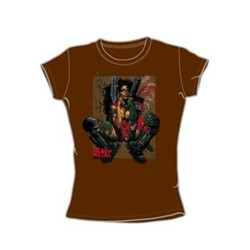 Heavy Metal - Armed & Dangerous - Juniors Coffee S/S T-Shirt For Women