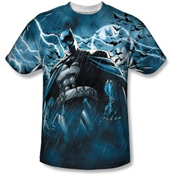 Batman - Mens Stormy Knight T-Shirt