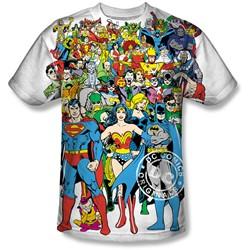 Dc - Mens Original Universe T-Shirt
