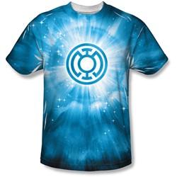 Green Lantern - Mens Blue Energy T-Shirt