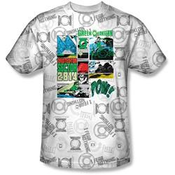 Green Lantern - Mens Sector Protecto T-Shirt