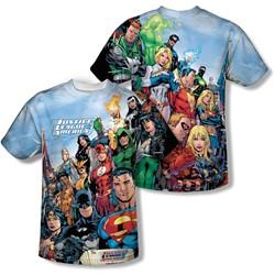 Jla - Mens Justice League Of America T-Shirt