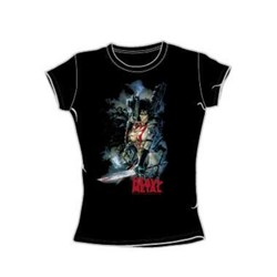 Heavy Metal - Heavy Metal Girl - Juniors Black S/S T-Shirt For Women