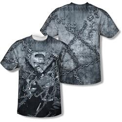 Superman - Mens Breaking Free T-Shirt