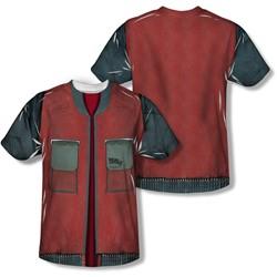 Back To The Future - Mens Future Jacket T-Shirt