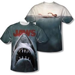 Jaws - Mens Poster T-Shirt