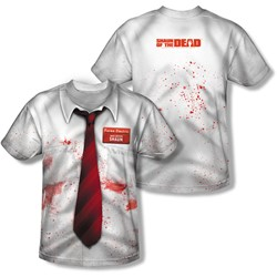 Shawn Of The Dead - Mens Bloody Shirt T-Shirt
