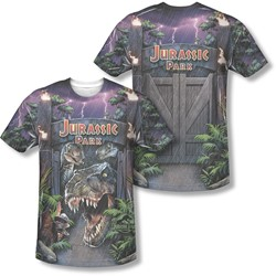 Jurassic Park - Mens Welcome To The Park T-Shirt