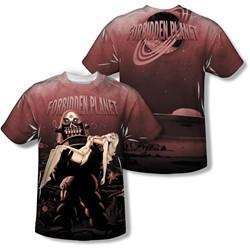 Forbidden Planet - Mens Poster T-Shirt