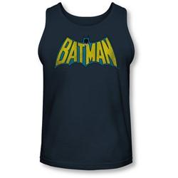 Dc - Mens Classic Batman Logo Tank-Top