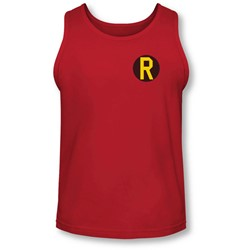 Dc - Mens Robin Logo Tank-Top