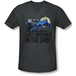 Dc - Mens Get Dressed V-Neck T-Shirt