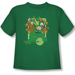 Dc - Toddler Green Arrow Stars T-Shirt