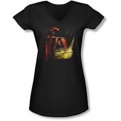 Mirrormask - Juniors Big Top Poster V-Neck T-Shirt