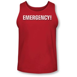 Emergency - Mens Logo Tank-Top