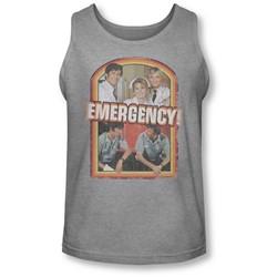 Emergency - Mens Retro Cast Tank-Top