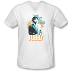 Miami Vice - Mens Tubbs V-Neck T-Shirt