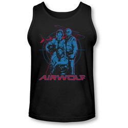 Airwolf - Mens Graphic Tank-Top
