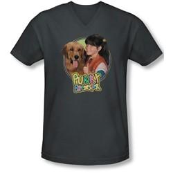 Punky Brewster - Mens Punky & Brandon V-Neck T-Shirt