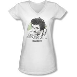 Columbo - Juniors Motive V-Neck T-Shirt
