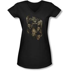 Grimm - Juniors Wesen V-Neck T-Shirt