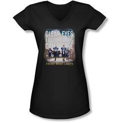 Friday Night Lights - Juniors Motivated V-Neck T-Shirt
