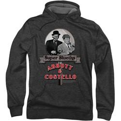 Abbott & Costello - Mens Super Sleuths Hoodie