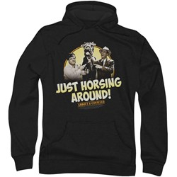 Abbott & Costello - Mens Horsing Around Hoodie