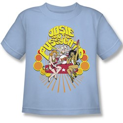 Josie And The Pussycats - Groovy Rock & Roll Juvee T-Shirt In Light Blue