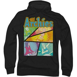 Archie Comics - Mens The Archies Colored Hoodie