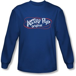 Astro Pop - Mens Vintage Logo Longsleeve T-Shirt
