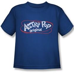Astro Pop - Little Boys Vintage Logo T-Shirt