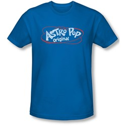 Astro Pop - Mens Vintage Logo Slim Fit T-Shirt