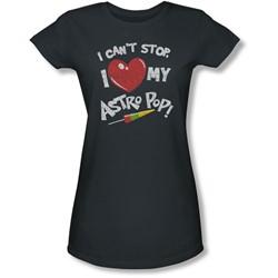 Astro Pop - Juniors I Heart Sheer T-Shirt