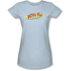 Astro Pop - Juniors Logo Sheer T-Shirt