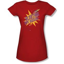 Astro Pop - Juniors Blast Off Sheer T-Shirt