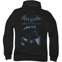 Batman: Arkham City - Mens Perched Cat Hoodie