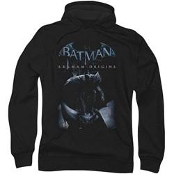 Batman: Arkham City - Mens Perched Cat Hoodie