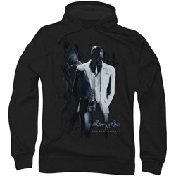 Batman: Arkham City - Mens Black Mask Hoodie