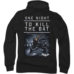 Batman: Arkham City - Mens One Night Hoodie