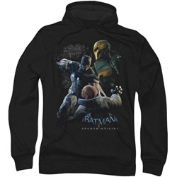Batman: Arkham City - Mens Punch Hoodie