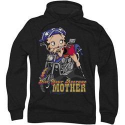 Betty Boop - Mens Not Your Average Mother Hoodie