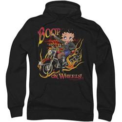 Betty Boop - Mens On Wheels Hoodie