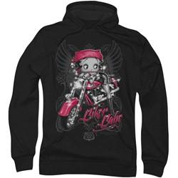 Betty Boop - Mens Biker Babe Hoodie