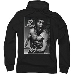 Bruce Lee - Mens Focused Rage Hoodie