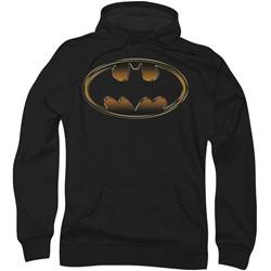Batman: Dark Knight Rises - Mens Spray Bat Hoodie