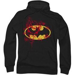 Batman - Mens Joker Graffiti Hoodie
