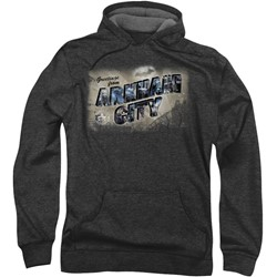 Batman: Arkham City - Mens Greetings From Arkham Hoodie