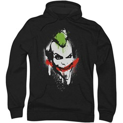 Batman: Arkham City - Mens Spraypaint Smile Hoodie