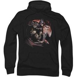 Batman: Arkham City - Mens Blood Moon Hoodie